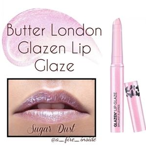 Butter London Glazen Lip Glaze Sugar Dust NIB